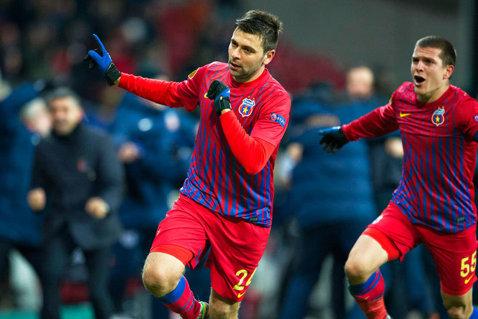 """Rusescu e în cea mai bună formă fizică. Argăseală: """"A slăbit, e alt jucător faţă de cum îl ştiam"""". Oficialul Stelei a vorbit şi despre accidentarea lui Bourceanu"""