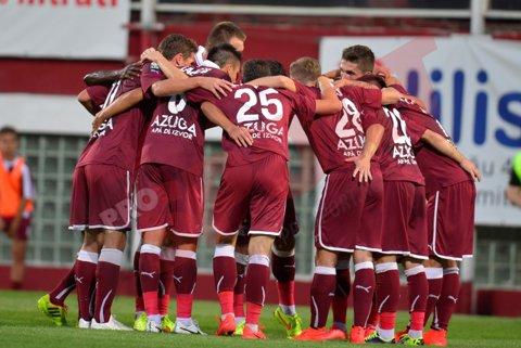 Giuleştiul, coşmar pentru Ogăraru la meciurile de debut. Rapid bate U Cluj, cu 2-1, la ultima fază a meciului | FOTO