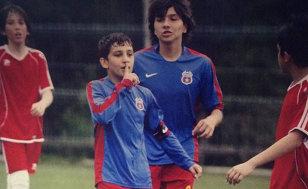 Stelist de mic. FOTO Robert Vâlceanu, în perioada în care evolua pentru juniorii Stelei