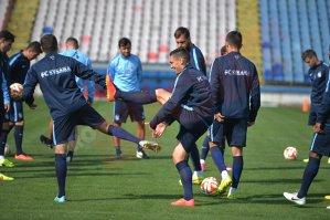 FOTO | Steliştii, pregătiţi de debutul în Europa League. Ultimele veşti din tabăra Stelei înainte de meciul cu Aalborg: Tănase nu poate juca, Sănmărtean e apt. Echipa probabilă