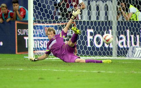 """Efect instantaneu! Cât a ajuns să valoreze Arlauskis, """"cel mai în formă portar din lume"""", după doar trei luni la Steaua"""