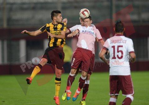 Marian Rada a revenit cu o înfrângere în Giuleşti. Rapid - FC Braşov 0-1