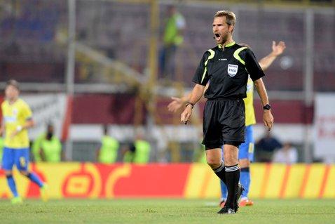 Alexandru Tudor va arbitra meciul Steaua - Universitatea Cluj