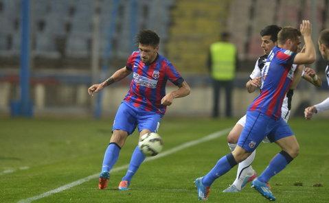 Pappară, pappară, pappară. Foarfeca lui Papp şi lanţul erorilor. Steaua - U Cluj 4-1