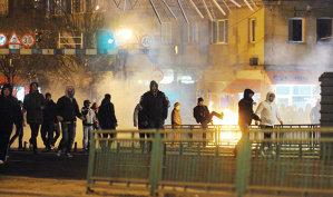 """Situaţie tensionată între suporterii Stelei. """"A început haosul, nimeni nu ştie dacă va mai fi pace între noi"""". Scandalul între grupurile ultraşilor din Ghencea a reizbucnit la meciul România-Ungaria"""
