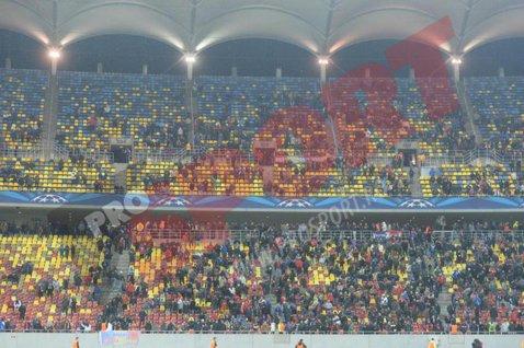 """Dezolant Arena. E incredibil câte bilete mai sunt disponibile pentru Steaua - Rio Ave, cu trei zile înainte de meci. În Liga 1, fanii din Ghencea nici nu ar prinde """"Europa"""""""