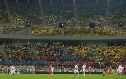 Falimentul Europa League pentru Steaua: 82.444 spectatori mai puţin decât sezonul trecut. Rio Ave îşi aduce suporterii pe Naţional Arena