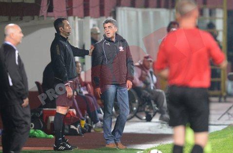 """Marian Rada: """"Meciul cu FC Botoşani ne-a prins într-o situaţie dificilă, avem mulţi indisponibili"""""""