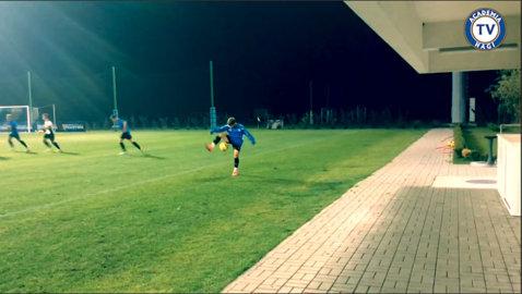 VIDEO   Academia Hagi propune un nou jucător de excepţie: Alex Măţan are doar 15 ani, dar i-a impresionat pe antrenori