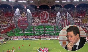 """Dinamoviştii pregătesc infernul pentru meciul cu Steaua. VIDEO   """"Mister"""" Dinu în rolul lui Morgan Freeman: """"Tu, câine, ţi-ai luat bilet la derby?"""""""
