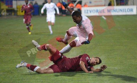 GALERIE FOTO | FC Botoşani - Rapid 3-0. Roussel şi Quenten au deraiat Rapidul