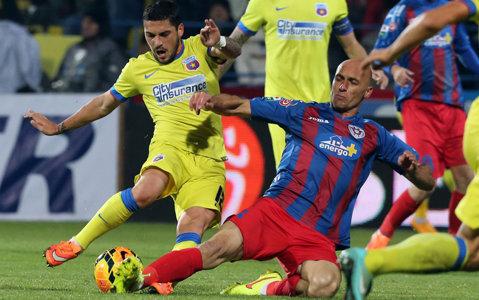 """""""Killer-ul"""" Mureşan regretă accidentarea lui Rusescu: """"Nu am nicio scuză. Îmi pare rău de el, dar nu şi de Steaua"""". Cum se apără după ce campioana i-a cerut suspendarea"""