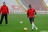 """Steliano Filip, incomodat de masca de protecţie: """"Îmi este greu să respir cu ea"""""""