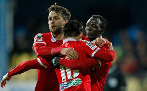 B&B pentru victorie la debutul lui Dănciulescu: Boubacar şi Bilinski au adus victoria lui Dinamo la Mediaş