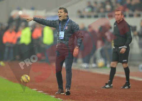 """Gâlcă după victoria cu FC Braşov: """"S-a văzut că am avut mulţi jucători la echipa naţională, oboseală mare"""""""