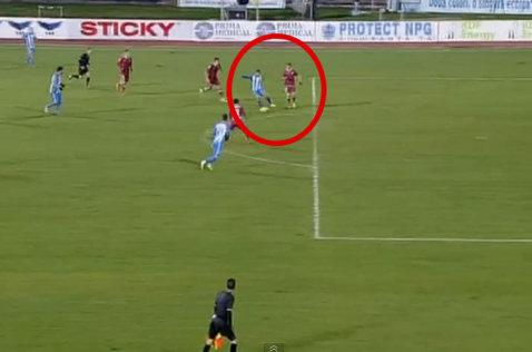 """VIDEO Ăsta poate fi golul sezonului în Liga 1! Reuşita """"portarului"""", propusă la Puskas Award: """"Dumnezeule, ce gol"""""""