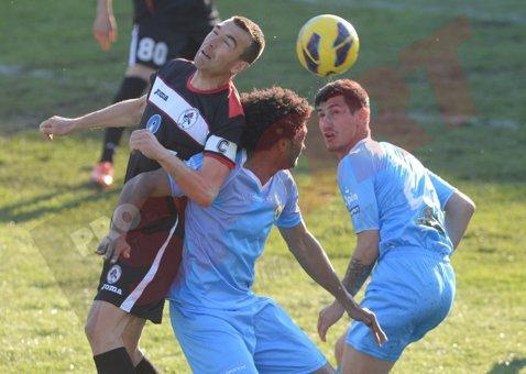 Echipa lui Şumudică obţine primul succes pe teren propriu: Concordia - Gaz Metan 2-0