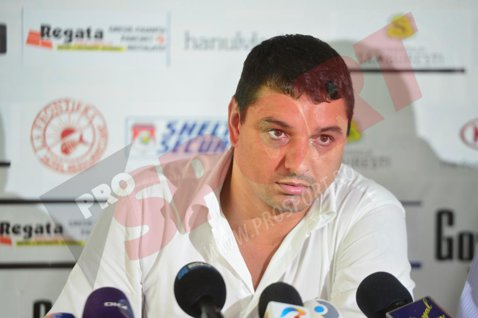 """Reacţie dură a lui Ganea după ce """"U"""" Cluj a anunţat că a câştigat un proces cu el: """"Să vină DNA-ul"""""""