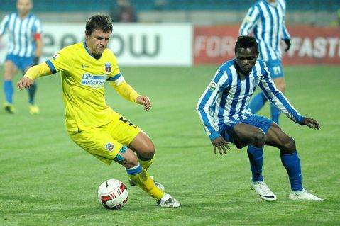 Roş-albaştrii au câştigat la Iaşi în meciul orbilor. CSMS Iaşi - Steaua 0-3 şi campioana României merge în semifinalele Cupei Ligii