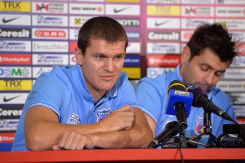 """Bourceanu: """"Nu ştiu dacă mai rămân la Steaua"""""""