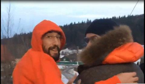 VIDEO | Mai mulţi stelişti au plecat în vacanţă la munte după meciul cu CSMS Iaşi. Imagini inedite cu Latovlevici, Bourceanu şi Pârvulescu
