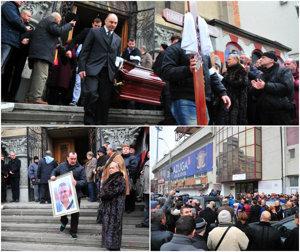 Nae Manea a fost înmormântat la cimitirul Străuleşti 2. Fanii rapidişti, oameni de fotbal, apropiaţi şi cunoscuţi l-au condus pe ultimul drum | FOTO
