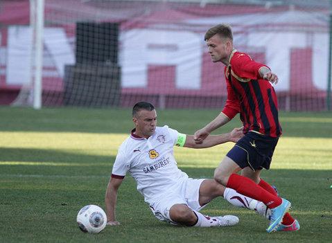Giuleştenii au câştigat primul amical din acest an: Rapid - Marek Dupnitsa 4-1. Rui Miguel, Pancu, Benson şi Kikas au fost marcatorii lui Pustai