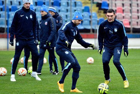 Steaua joacă primul amical în Antalya pe 31 ianuarie. Programul partidelor de pregătire ale campioanei.