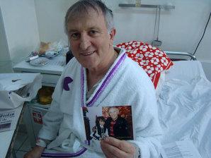 """Grav bolnav de inimă, fostul arbitru Ioan Danciu nu se poate abţine de la glume: """"Cred că m-am îmbolnăvit de la laptele de vacă"""". În spital, Danciu s-a împrietenit cu un domn de 95 de ani care a murit a doua zi"""