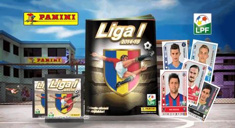 Premieră pentru România. LPF şi Panini scot primul album cu jucătorii tuturor echipelor din Liga 1