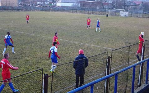 Oţelul a încheiat cantonamentul din Poiana Braşov cu o nouă victorie la scor. Selymeş a testat un jucător din Liga 2