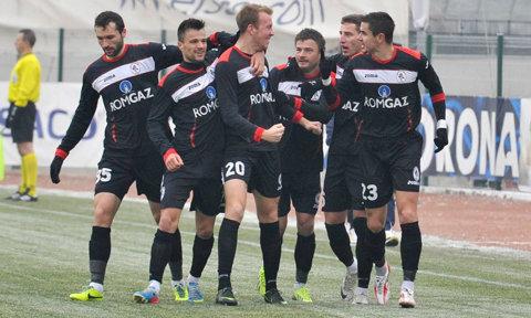 Gaz Metan Media a învins Widzew Lodz, scor 2-0, într-un meci amical