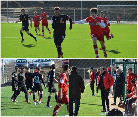 Dinamo a făcut spectacol echipa a doua a clubului! Debut pentru Lucian Goian. Dinamo - Dinamo II 6-2 | GALERIE FOTO