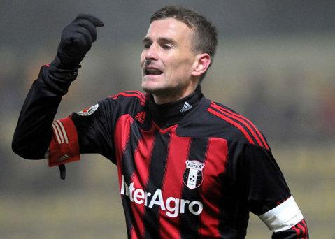 Plecat de la Dinamo, Lucian Goian a semnat un contract cu FC Braşov