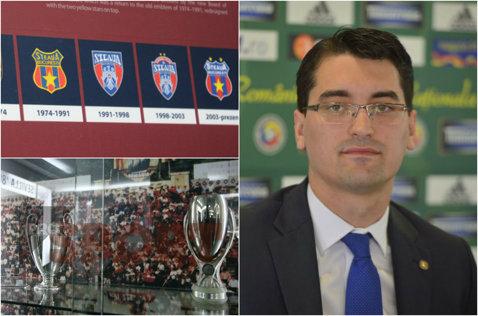 Şeful FRF recunoaşte că Becali a pierdut şi palmaresul şi lasă de înţeles că locul din Liga 1 ar putea reveni CSA, dacă această grupare îşi face echipă de fotbal!