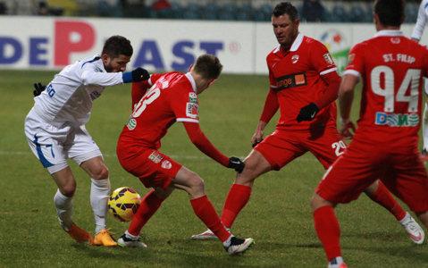 Dinamo a învins ACS Înainte Modelu cu 8-2, într-un meci amical. Bilinski a înscris de cinci ori