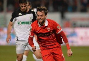 """Bilinski şi Lazăr au îngenuncheat """"Şepcile Roşii"""". Dinamo - """"U"""" Cluj 3-0"""