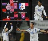 LIVE BLOG LIGA 1 |  FC Braşov - Astra 0-0. Fatai ratează prima ocazie. CFR Cluj - Pandurii 0-4. Mihai Roman, Eric, Shalaj şi autogolul lui Amadio au decis meciul