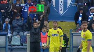 Gabi Tamaş a debutat pentru Steaua în meciul cu CSU Craiova. Deşi campioana forţa golul victoriei, Gâlcă l-a trimis în teren în locul lui Rusescu