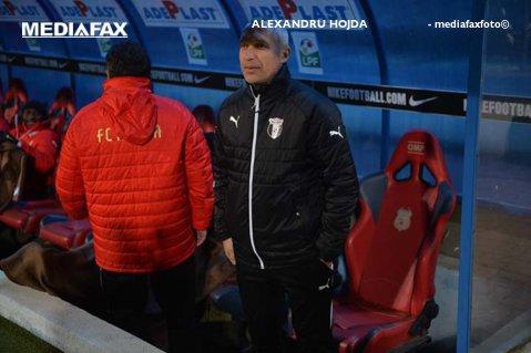 """Protasov, după remiza de la Braşov:  """"În partea a doua ar fi trebuit să câştigăm"""". Tehnicianul neagă că ar exista tensiuni la echipă"""