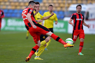 Astra Giurgiu a învins FC Braşov, scor 2-0, într-un meci amical