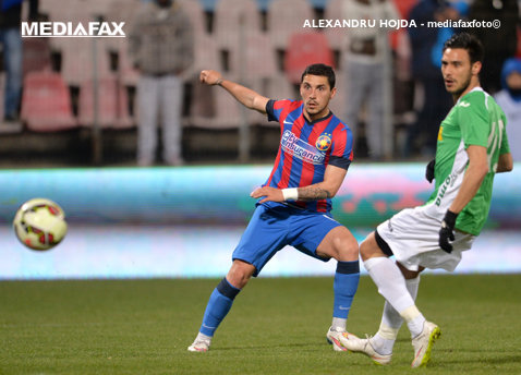 """Stanciu a venit la Steaua ca un star, dar n-a reuşit să se impună: """"În loc să crească, scade"""""""