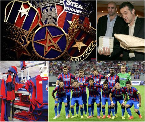 """EXCLUSIV   CSA pune la bătaie 95.000 euro pentru evaluarea mărcii """"Steaua"""". Se va decide firma care va derula acest proces. Se solicită şi stabilirea prejudiciului provocat de clubul lui Gigi Becali"""