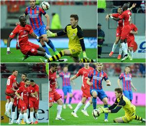 LIVE BLOG | Steaua - Oţelul 0-2. Două penalty-uri clare refuzate steliştilor. Latovlevici a marcat în propria poartă, iar Hamroun a mărit avantajul înainte de pauză