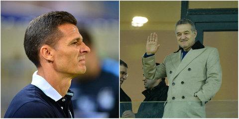 """De ce nu i-a spus până acum Gigi Becali """"Adio"""" lui Gâlcă? Antrenorul are de încasat o clauză uriaşă dacă e dat afară. Însă poate fi demis dacă pierde fotoliul de lider"""