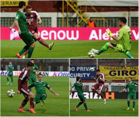 Giuleştenii speră în continuare. Rapid - Concordia 1-0. Chiajna arată rău fără Şumudică. Pandurii - U Cluj 0-1. Viveiros a adus victoria oaspeţilor