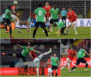 Dinamo - CFR Cluj 1-1. Elhamed şi Camora au înscris golurile unui meci care a oferit spectacol doar în repriza secundă