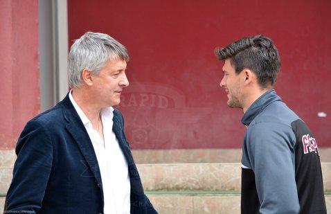 """Salvatore Bergodi? """"Meritul e al lor, că doar nu joc eu pe teren"""". Ce spune italianul despre victoria de la Braşov, 2-1 pentru Rapid"""