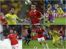 Dinamo - Steaua 1-3. 11 meciuri consecutive fără victorie a lui Dinamo în faţa Stelei. Senzaţionalul Stanciu a reuşit a doua dublă în trei etape. Steliştii, din nou la două puncte de liderul ASA Târgu Mureş