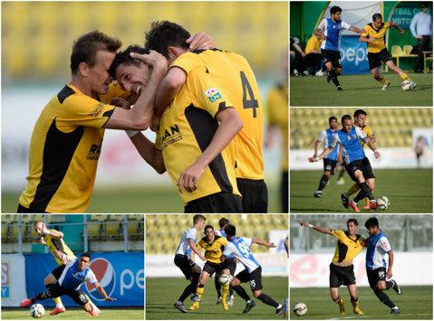 """""""Stegarii"""" speră până în ultima etapă. Viitorul - FC Braşov 0-2"""
